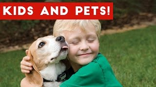 Cute Funny Pets and Kids Vine Compilation 2017