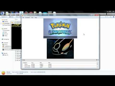 Citra 3ds New work fast Pokemon X&Y Ruby&Alpha 100% MAY 2016