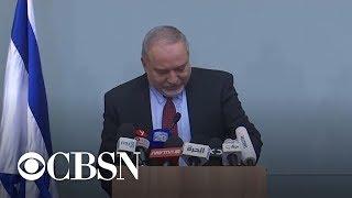 Israeli defense chief resigns to protest Gaza truce