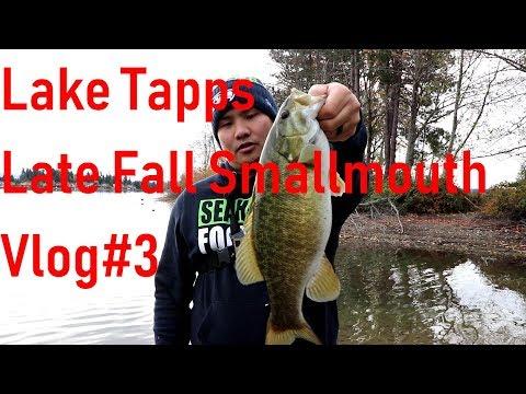 Lake Tapps Bass Fishing VLOG #3 Late fall