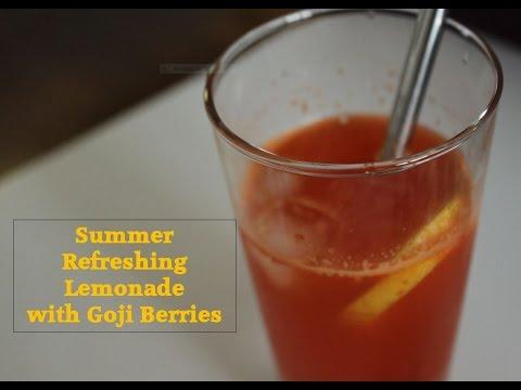 Juicing Recipe - How to make Healthy Goji Berries Juice   Simplement bon   1