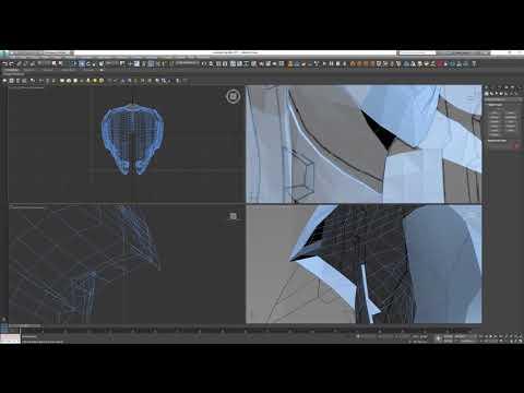 Producing a 3D Halo Helmet
