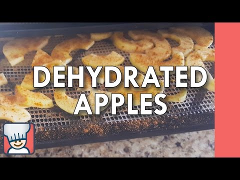 How to make dehydrated apples