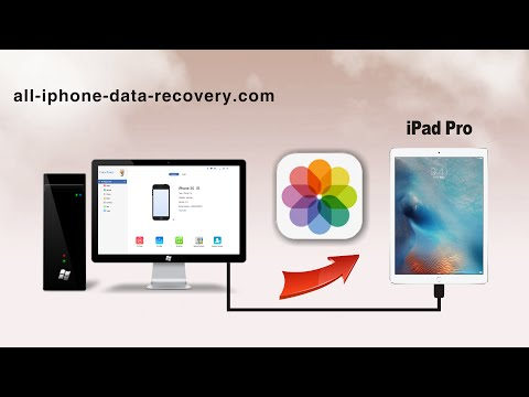 How to Transfer Photos from Computer to iPad Pro, Import Photo to iPad Pro