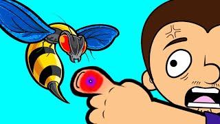 Download Stung by a Vespa Mandarinia. Poisonous wasp VS Tony Video