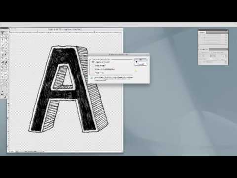Converting a Photoshop File to Adobe Illustrator Vector File.mp4