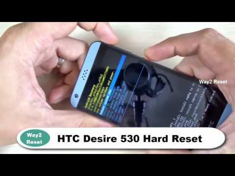 How To Hard Reset HTC Desire 530 Factory Reset 1000% Tested