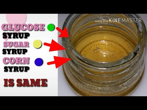Corn Syrup / Glucose Syrup  / Sugar Syrup  / How to  make  Corn Syrup.