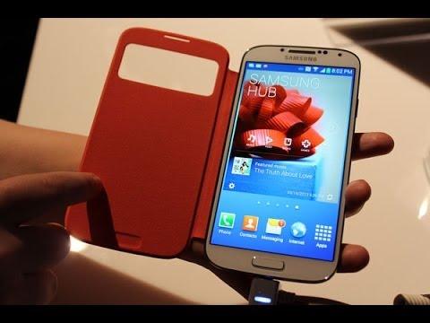 Samsung Galaxy S4 - Specs Full Hands on