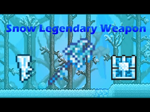 Terraria 1.2 - Frozen Key Mold, Key, Chest and Staff of the Frost Hydra