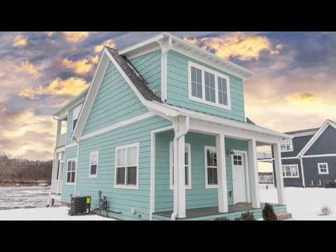 Tiny House Living on the Waterfront - The Southern Charm Home Plan
