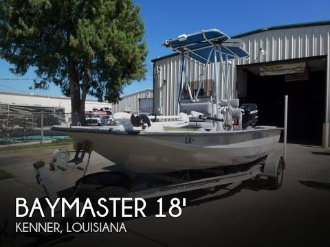 [UNAVAILABLE] Used 2004 Baymaster 18 Center Console T-Top in Kenner, Louisiana