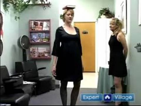 Casting Calls & Runway Walking Tips : Runway Show: Good Posture