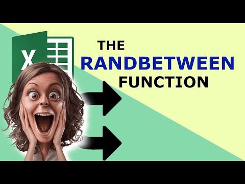 RANDBETWEEN Function - Description and examples