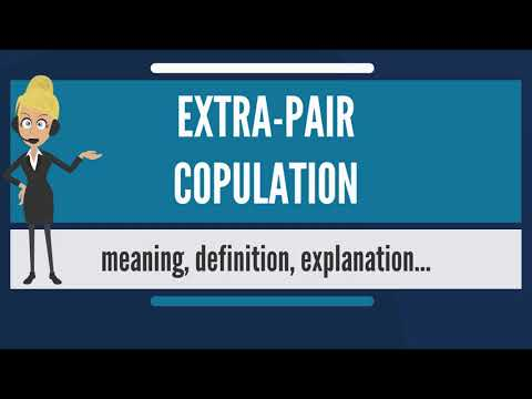 What is EXTRA-PAIR COPULATION? What does EXTRA-PAIR COPULATION mean? EXTRA-PAIR COPULATION meaning