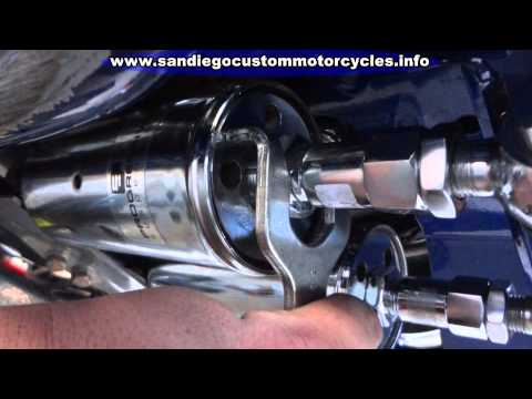 Motorcycle Suspension Adjustments   Progressive Shock Adjustments