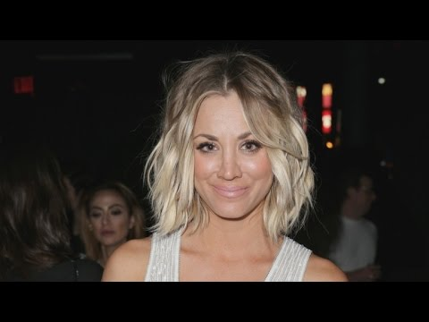 Kaley Cuoco Debuts a Drastically Different Hair Style -- See the Pics of Her New 'Do!