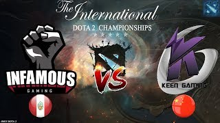 Download Infamous vs Keen Gaming (BO1) The International 2019 Video