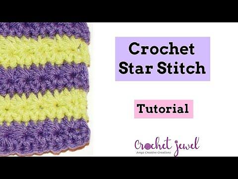 How to Crochet the Star Stitch - Crochet Jewel