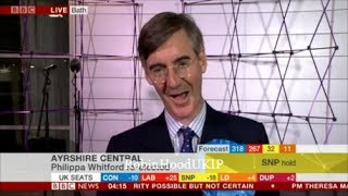 Jacob Rees Mogg is the only calm and Stable Tory as the world burns