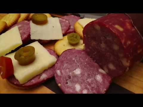 Venison Jalapeno & Wine Summer Sausage - Homemade