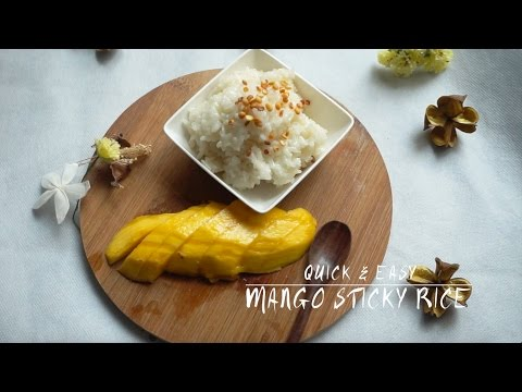 MANGO STICKY RICE | EASY AND HEALTHY (VEGAN)