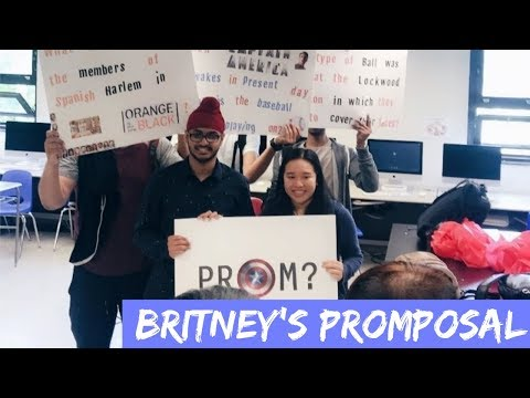 Britney's Promposal || 06/01/2018