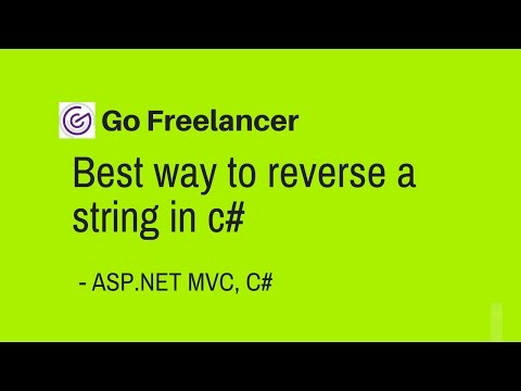 Best way to reverse a string in c#