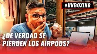 AirPods: unboxing y prueba de caída