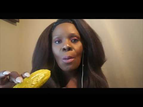 BIG CRUNCH | DILL Pickle ASMR Eating Sounds