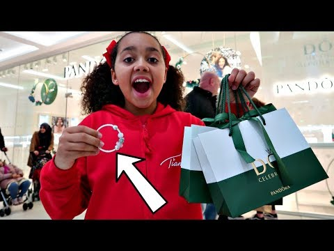 Tiana Shopping For Birthday Presents