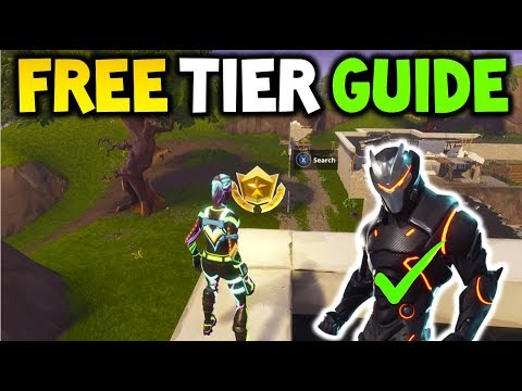 HOW TO GET A FREE BATTLE PASS TIER! Fortnite FREE TIER GUIDE! FREE FORTNITE SEASON 4 TIER!