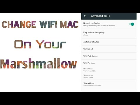 Change wifi Mac address on Android(Marshmallow also working) 100% working tricks After fail all apps