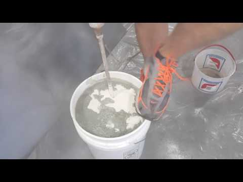 How to add Concrete Color Additive  To Overlay Bag Mix