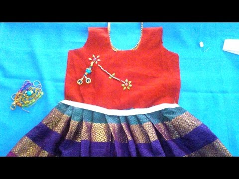 How to make BEAUTIFUL baby frock DRESSES for girls