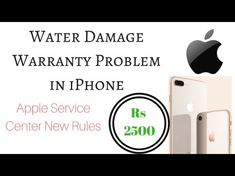Apple water damage Warranty repair Problem iPhone 2017  NEW RULES | HINDI