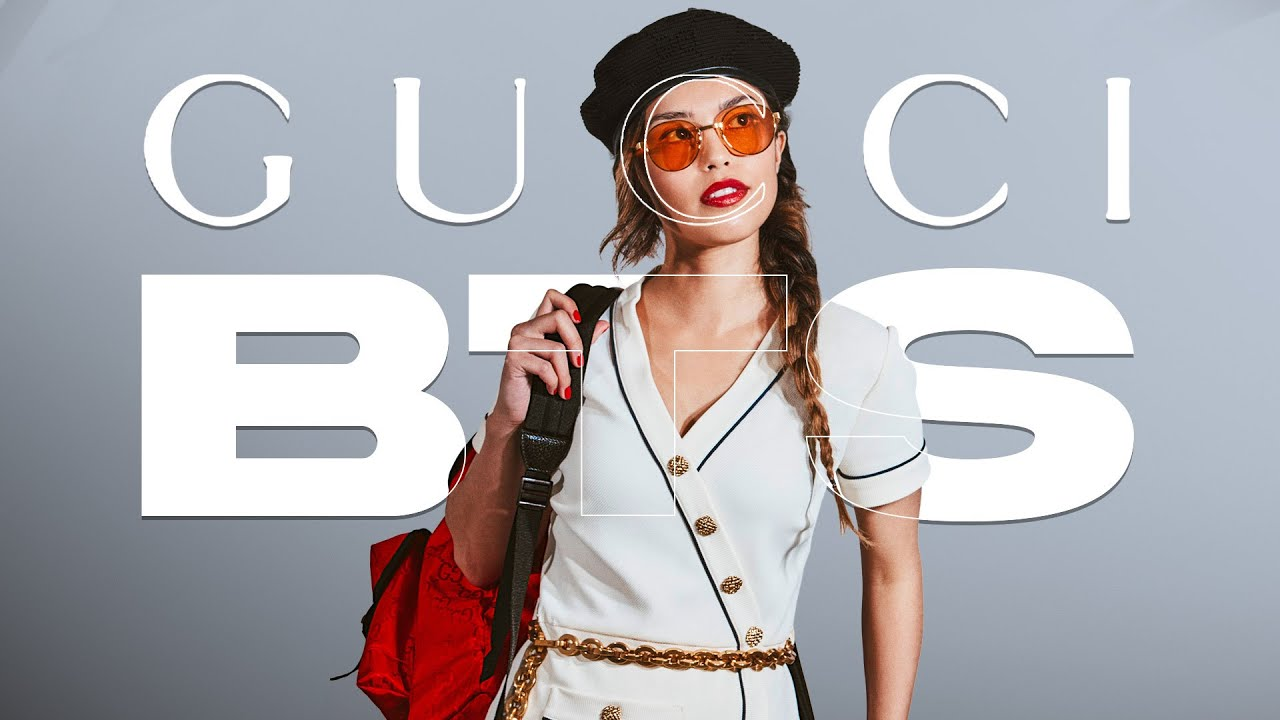 MODELING IN A GUCCI SHOOT FOR 100 THIEVES! (BTS Vlog)