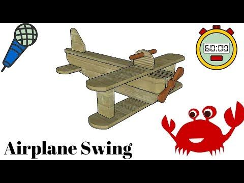 Kids Airplane Swing Plans
