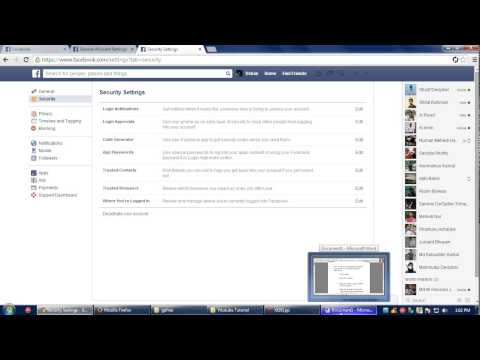 How to logout your facebook account from another device