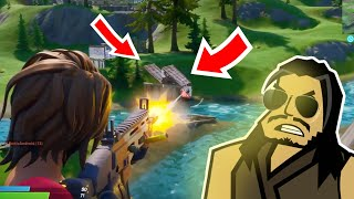 INFILTRATING THE AGENCY | Roach Plays Fortnite (The Squad)
