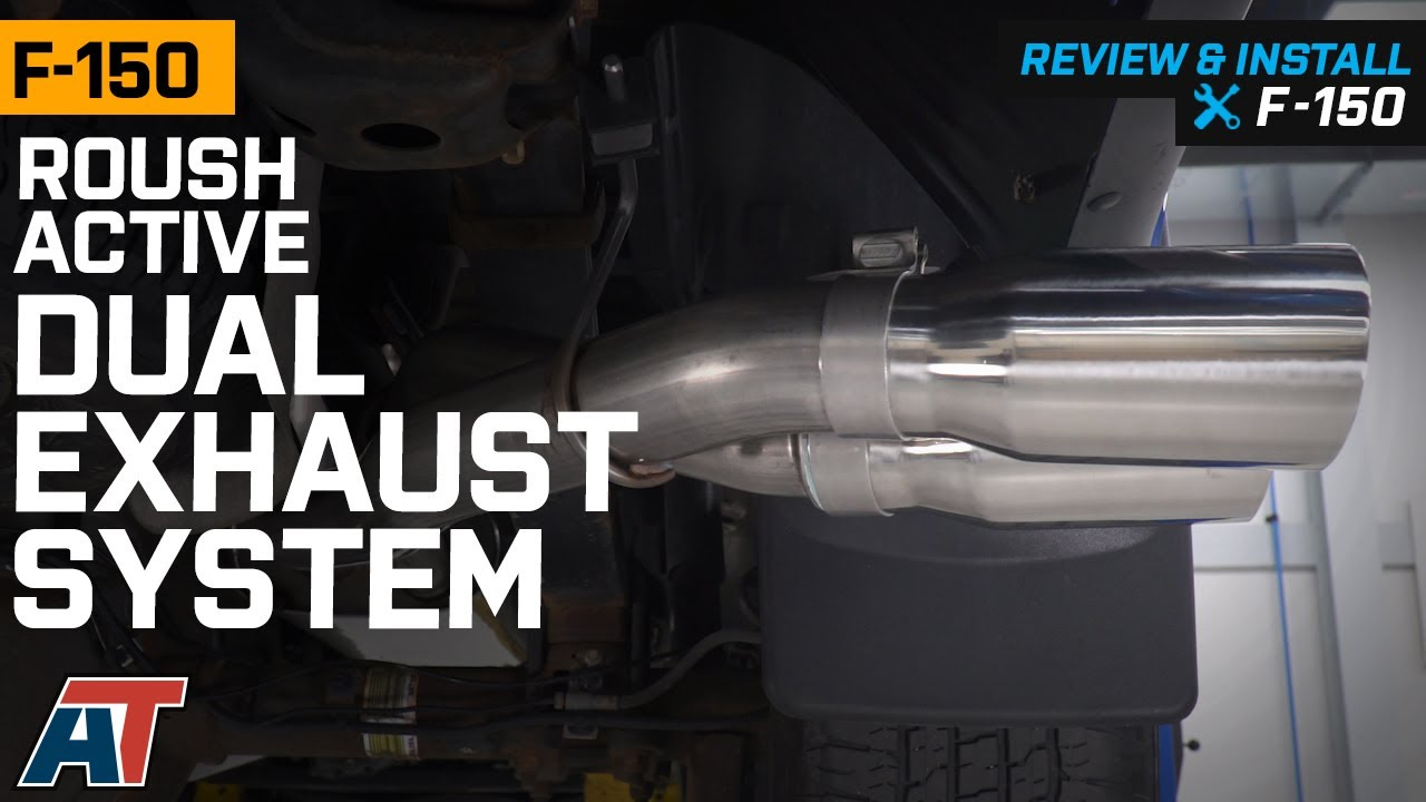 2015-2020 F150 5.0L Roush Active Dual Exhaust System with Polished Tips Sound Clip & Review
