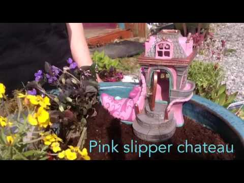 How to make a miniature fairy garden.