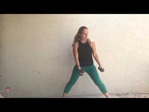 1 Minute Full Body Workout with weights