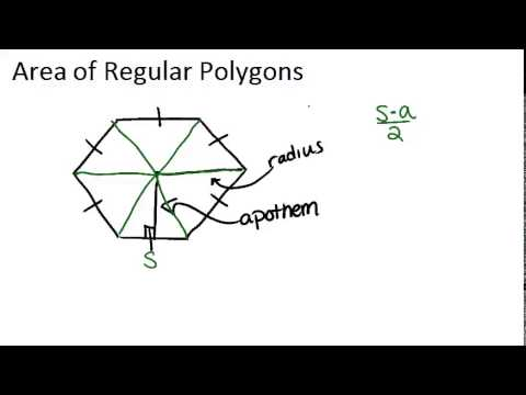 Area of Regular Polygons: Lesson (Geometry Concepts)