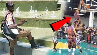 HOW TO CATCH A LIVE HYPEBEAST IN SNEAKERCON!! My ALLEY OOP TO LSK! DUNK FACIAL!