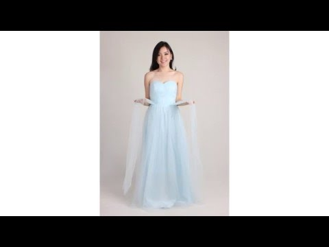Tulle Convertible Dress Tutorial