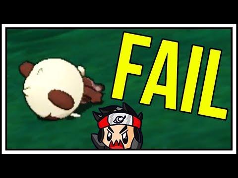 ANOTHER SHINY POKEMON FAIL REEEEEEE Shiny Pancham FAIL in Pokemon Ultra Sun