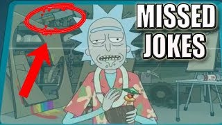 Rick and Morty Season 3 | 10 Jokes You Missed So Far