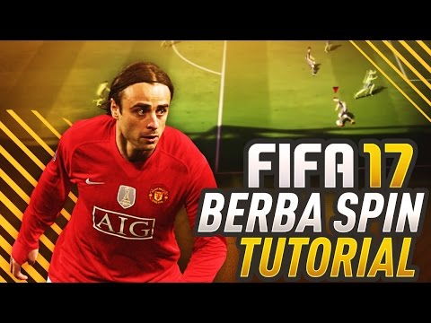 FIFA 17 ADVANCED BERBA SPIN TUTORIAL! HOW TO USE SKILL MOVES BEST IN THE ATTACK! THE FUT GUIDE