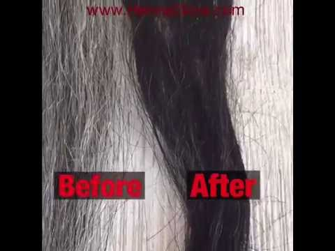 DIY | Dye Gray Hair Black Naturally - Henna + Indigo Step By Step